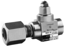 Chemiquip pressure limiting valve