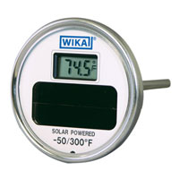 Solar Dial Thermometer
