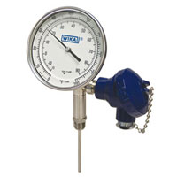 Twin-Temp mechanical and electronic thermometer