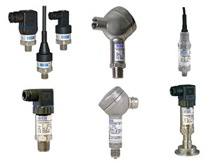wika pressure transmitters for pressure to current conversion